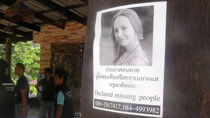 "Missing Woman's mother arrives in Koh Tao: ""She had never dived in the sea before"", she says 
