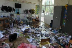 Who wanted to burn their school down as a child? These young kids did the next best thing! | News by Samui Times