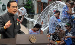 Midweek rant: Prime Minister points his fingers at Thai's Songkran driving behavior saying