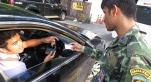 Driven legal: Army backs Phuket campaign for commercial drivers to have correct licences | News by Samui Times