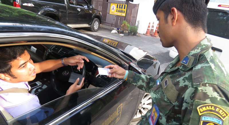 Driven legal: Army backs Phuket campaign for commercial drivers to have correct licences | Samui Times