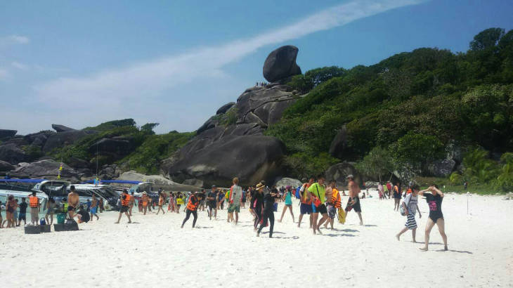Similan Islands see highest revenue in 35 years | Samui Times