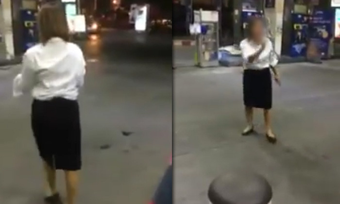 Storm in a Thai teacup – woman goes to the police over pump attendants who can't open filler cap | Samui Times
