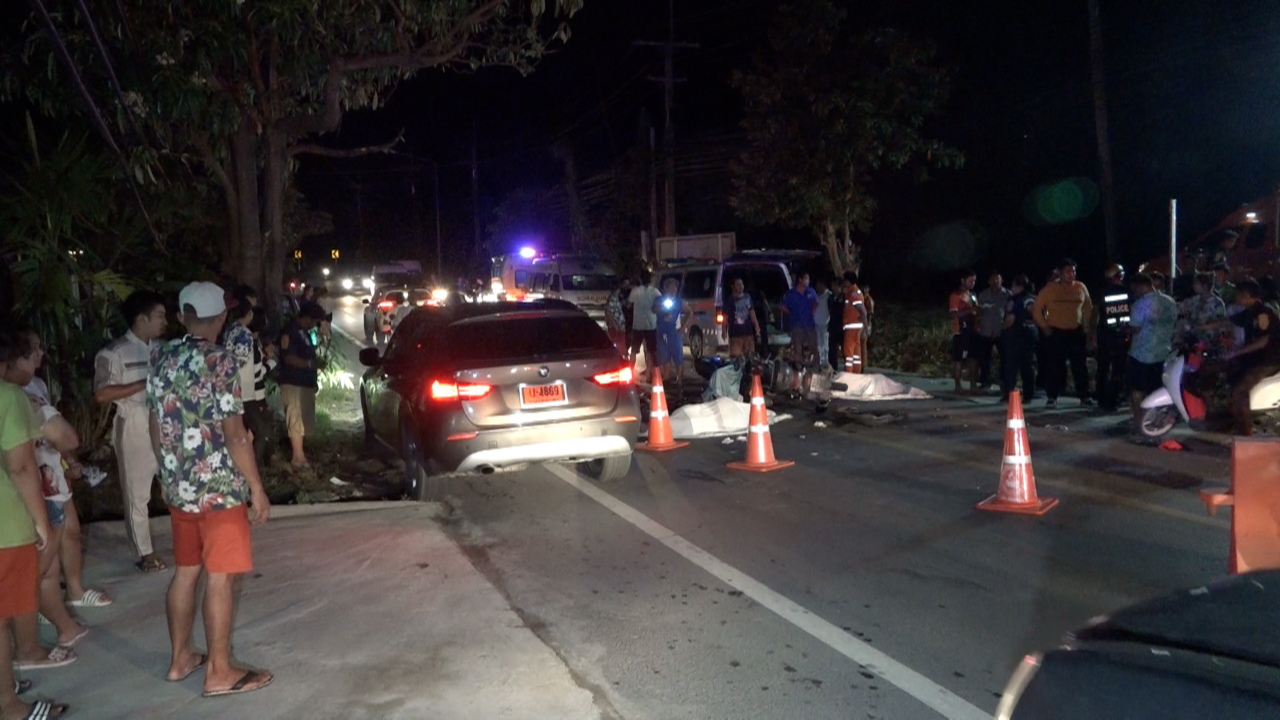 Russian tourist and two Thai men killed in motorbike accident on Koh Samui | Samui Times