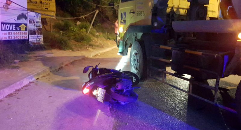 Australian tourist crushed in Phuket motorbike accident | Samui Times