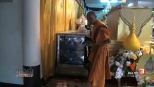 Police probe missing monk's body from refrigerated glass coffin   News by Samui Times