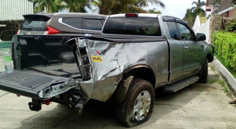 Two young men killed in Phuket as motorbike collides with pickup truck | Samui Times