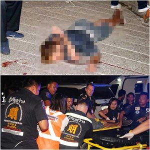 Foreigner stabs Thai woman with