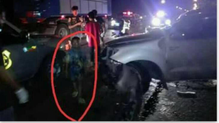 Ghost or just a boy at an accident? Thai netizens debate the supernatural! | Samui Times