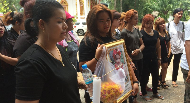 Phuket bids farewell to 11-month-old girl, hanged by father on Facebook   Samui Times