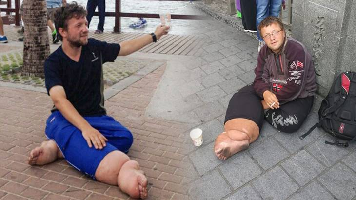 """""""Most hated German in Thailand"""" now scamming the Japanese in Osaka. 