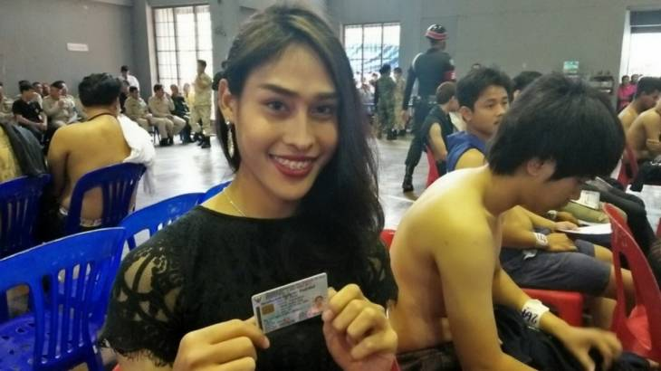 Amazing Thailand! Stunning lady boys stars of the show as army recruitment begins | Samui Times