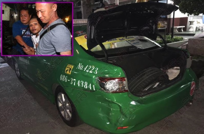 Shots fired as wanted murderer flees police in stolen Bangkok taxi | Samui Times