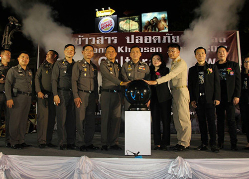 Police top brass declare Khao San Road safe for tourists | Samui Times