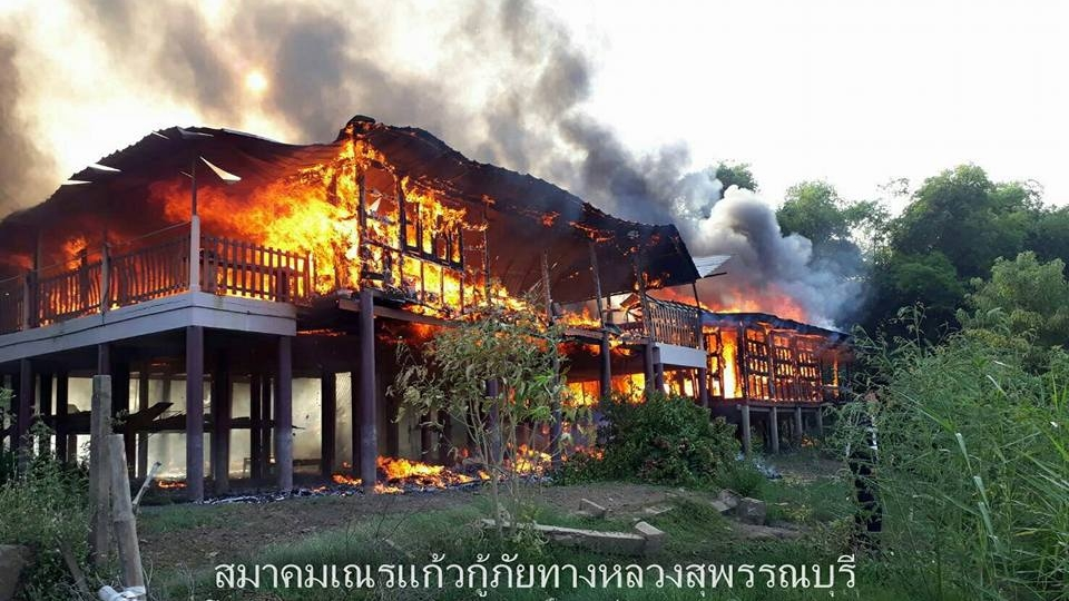 Woman dies in burning Thai home trying to rescue trapped dogs | Samui Times