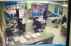Shocking violence as spurned lover empties gun into ex at her work desk | News by Samui Times