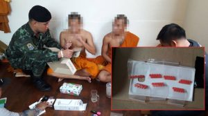 Monks caught dealing and taking Ya Ba in Samut Prakarn temple | News by Samui Times