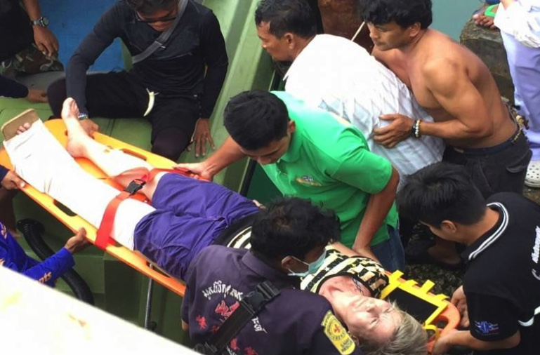 """Five tourists injured as """"stairway collapses"""" in Ang Thong – Koh Samui National Park 