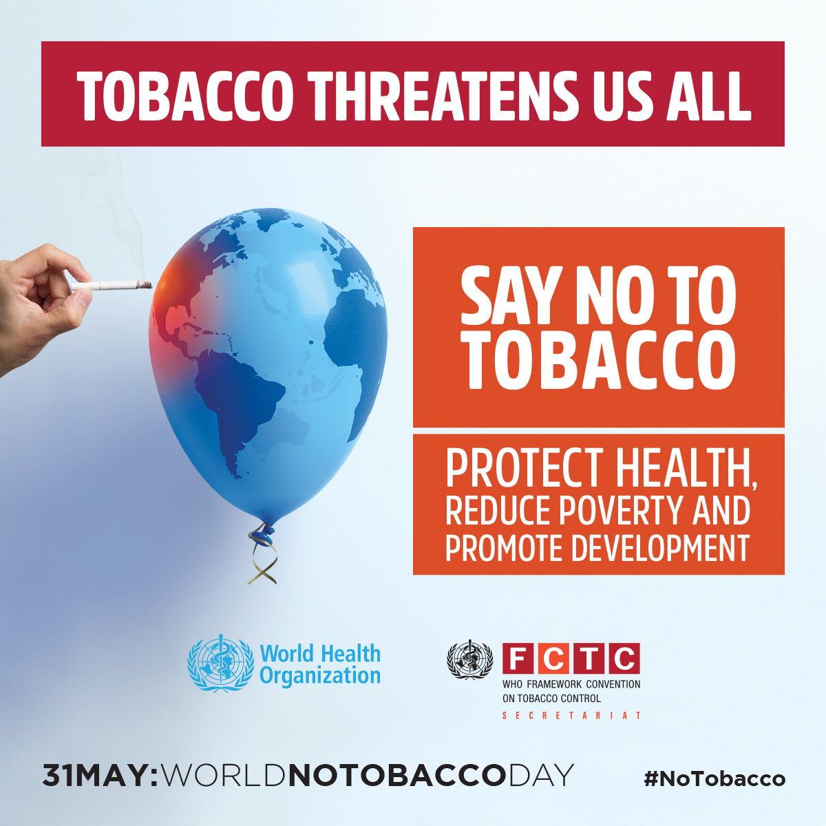 World No Tobacco Day 2017: Beating tobacco for health, prosperity, the environment and national development | Samui Times