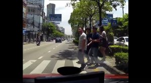 Stopping for pedestrians at zebra crossings - Can Thai Rath change Thai driving habits? | News by Samui Times