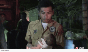 Abandoned newborn found by garbage dump in Chonburi | News by Samui Times