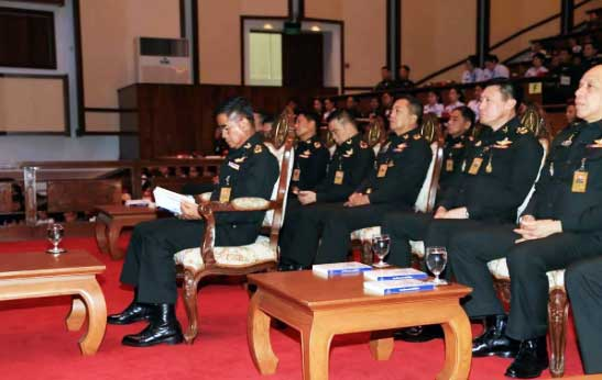 Army holds special lecture on nationalism | Samui Times