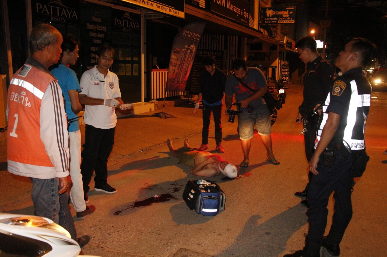 Police investigating how naked British man fell from Pattaya guesthouse | Samui Times