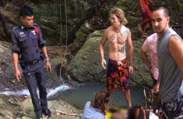 """American tourist who died at remote waterfall """"insulted the spirits"""" say Koh Samui locals   Samui Times"""