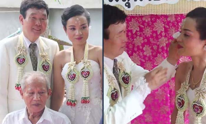 South Korean deaf and mute man puts down 500,000 baht dowry to wed his similarly handicapped Thai sweetheart | Samui Times