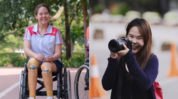 After loss of legs in Singapore train accident, Thai girl wins hospital job with million baht salary | Samui Times