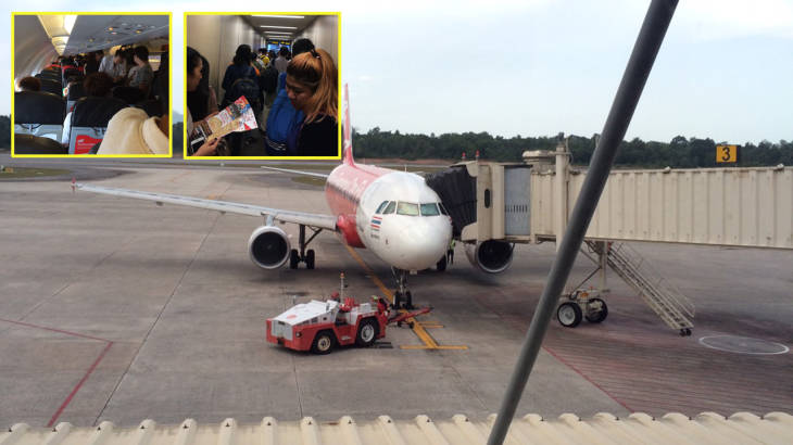 Everybody off! Plane unloaded as passenger is carrying extra baggage – a baby! | Samui Times