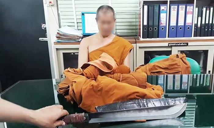 "Fake monk with the catchphrase ""Wanna die do you?"" arrested thanks to social media 