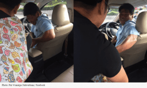 'You're my last passenger': Tearful taxi driver scams Thais out of big tip with tragic life story | News by Samui Times