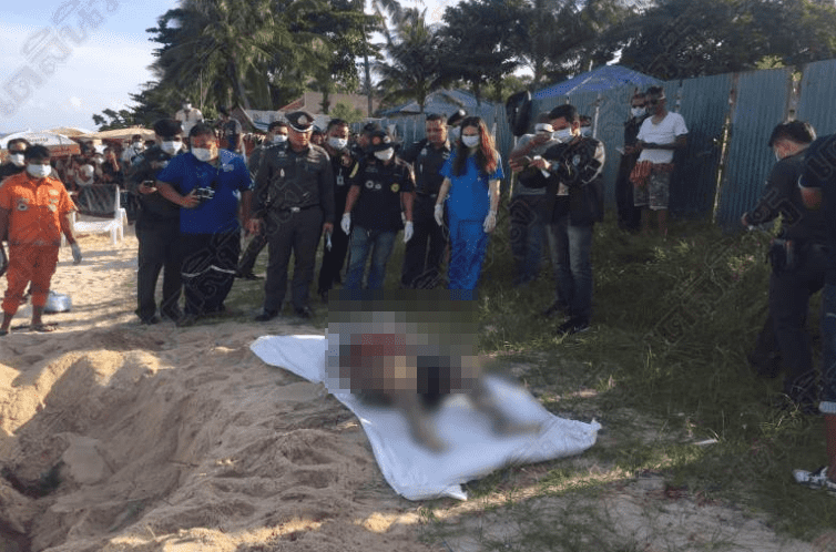 Horror in paradise – tourist digs up corpse on holiday beach in Koh Samui | Samui Times