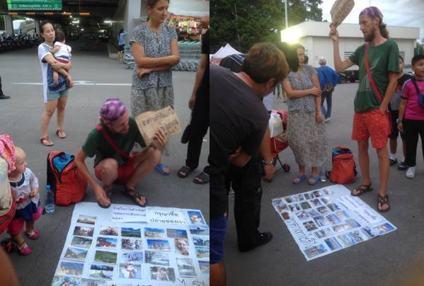 """""""Remove these parasites"""" – Russian """"beg-packers"""" move their con to Chiang Mai 