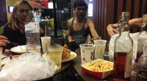 Thai boozy party at McDonald's goes viral | News by Samui Times