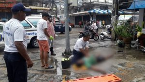 Pattaya's shame! Man electrocuted in the street right outside district chief's house | News by Samui Times