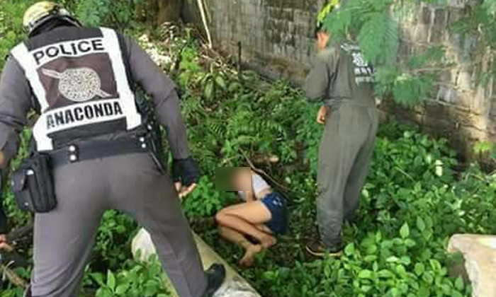 Hunt on for Thai man after woman found unconscious in the undergrowth with a used condom by her body | Samui Times