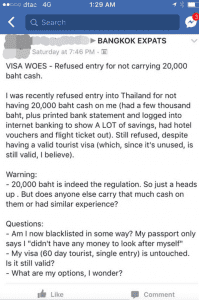 Some tourist visa holders being asked to show 20,000 baht in CASH when entering Thailand | News by Samui Times