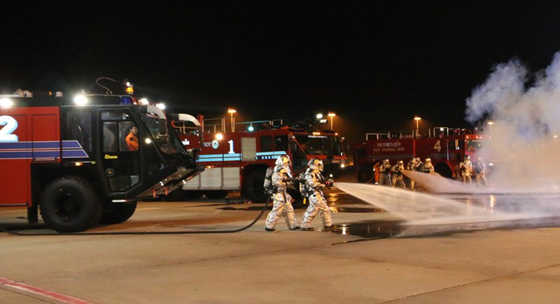 Phuket Airport holds successful emergency disaster drill   Samui Times