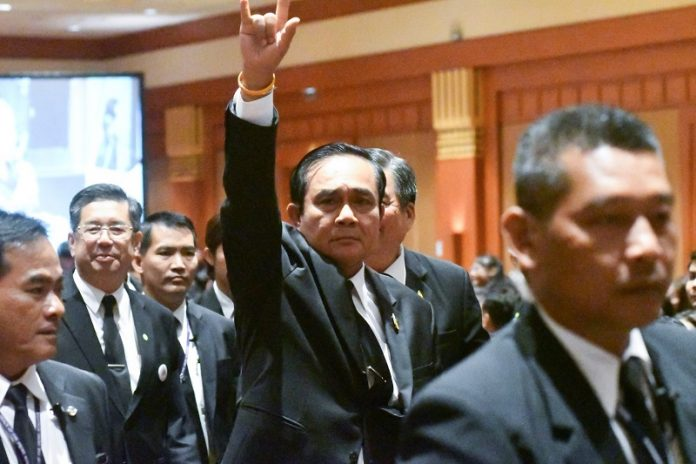 Absolute Power Means 'I Can Do Whatever,' Prayuth Says | Samui Times