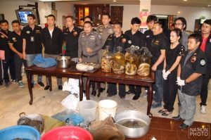 What a load of cobras! Seven arrested in raid on endangered species' restaurant in downtown Bangkok | News by Samui Times