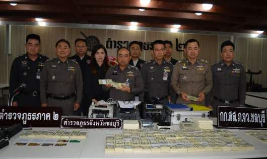 US$1.2 million fake notes seized as police bust counterfeit gang | Samui Times
