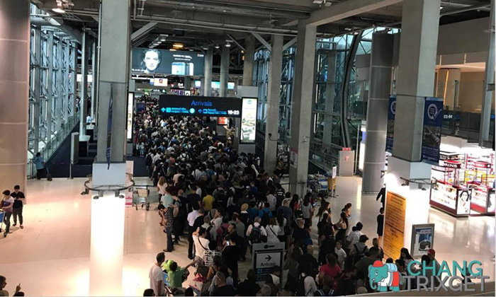 Not just Don Muang – Suvarnabhumi hit by long immigration queues | Samui Times