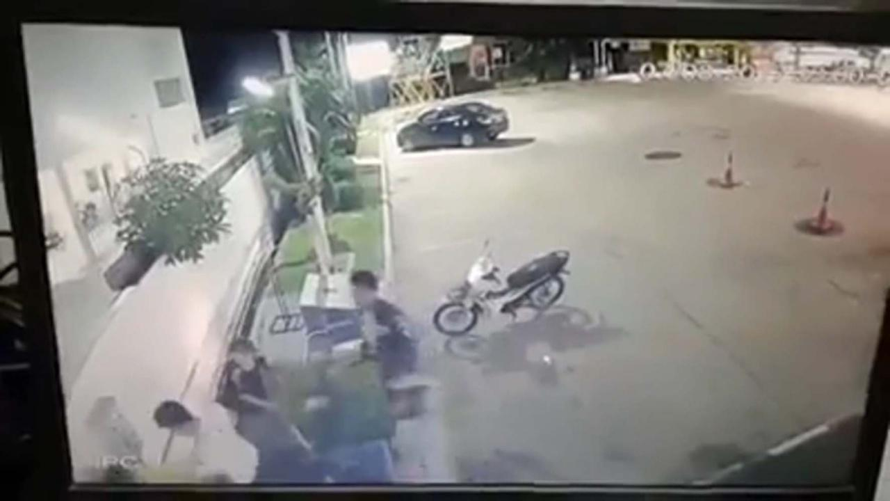 """""""Khon Kaen just gets scarier"""" as teen hacked in gas station 7 on 1 attack 