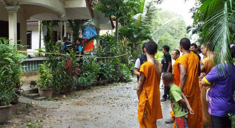 Monk's assistant hacked to death at Phuket temple | Samui Times