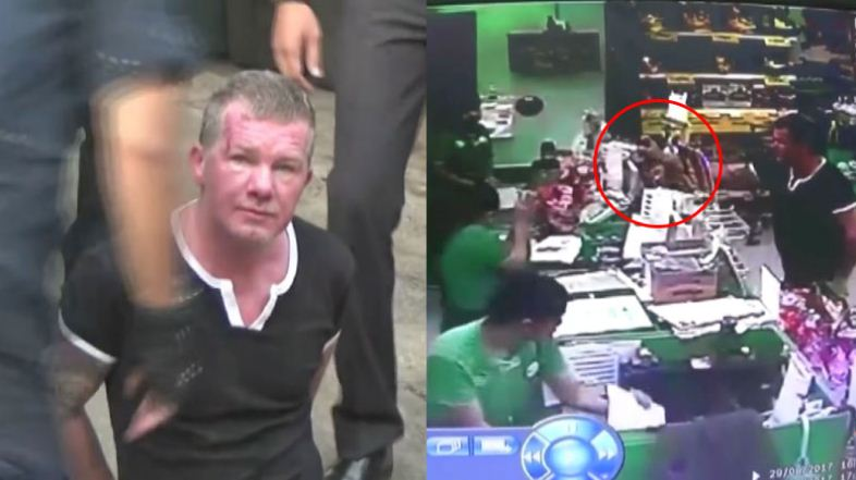 Foreigner pepper-sprays cashiers at minimart before stealing cigarettes and cheap wine coolers | Samui Times