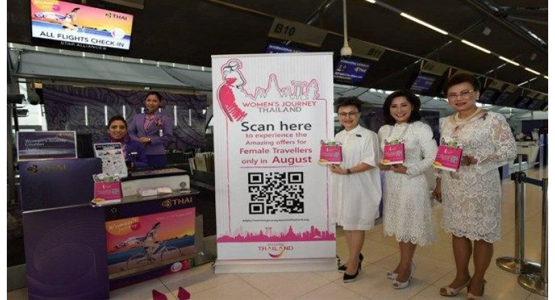 Thai airlines roll out 'pink' carpet for women travellers | Samui Times