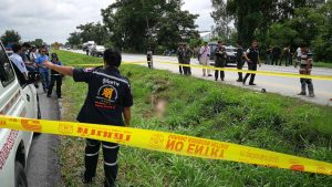 Naked man found dead roadside with trousers nearby | News by Samui Times