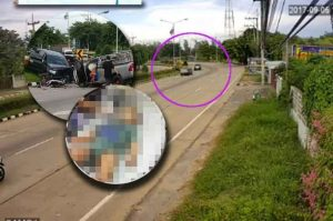 Murder! Police charge driver who went the wrong way and killed baby | News by Samui Times